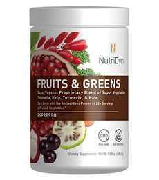 Fruits & Greens Espresso Dr Direct