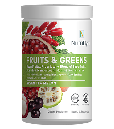 Fruits & Greens Green Tea Melon Dr Direct