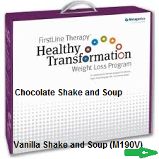 Healthy Transformation Weight Loss Program with Shake and Soup