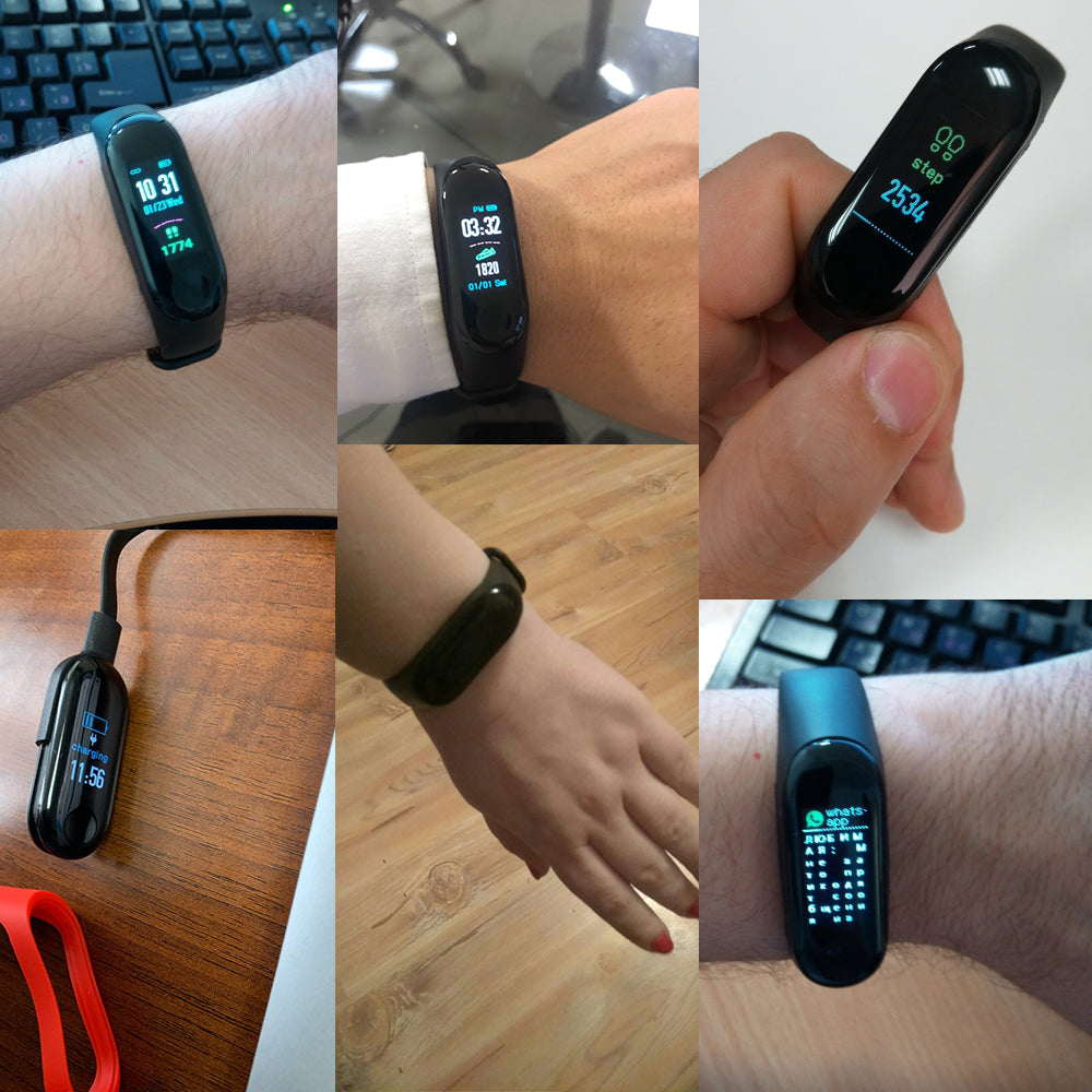 M3 Plus Smart Band Bluetooth Sports Fitness