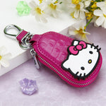Porte Clé Cuir Hello Kitty