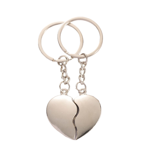 Porte Clé Couple Heart
