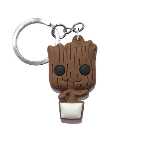 Porte Clé Silicone Groot