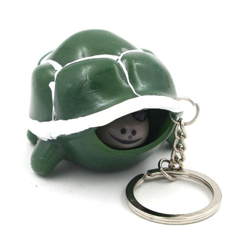 Porte Clé Tortue Anti-Stress