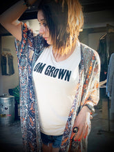 Load image into Gallery viewer, OM Grown Rock Concert Crew Tank - Athleisure Wear - Go OM Yourself