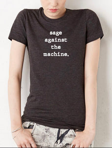 Sage Against The Machine - High Vibes T-Shirt - Go OM Yourself