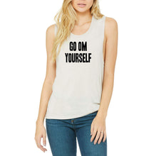 Load image into Gallery viewer, Go OM Yourself Graphic Tee - Rock Concert Crew Tank - Go OM Yourself