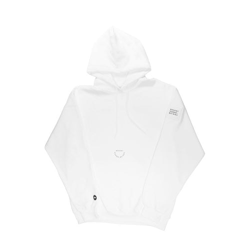 PATCH HOODIE - WHITE