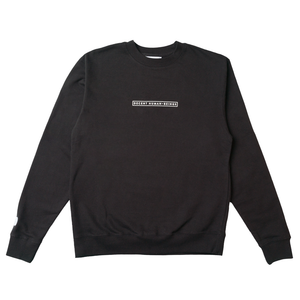 BAR LOGO CREWNECK - BLACK