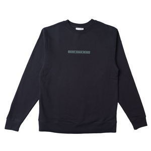 BAR LOGO CREWNECK - NAVY