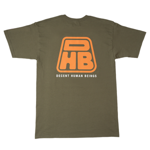 DHB PATCH TEE - OLIVE