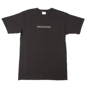 BAR LOGO TEE - BLACK