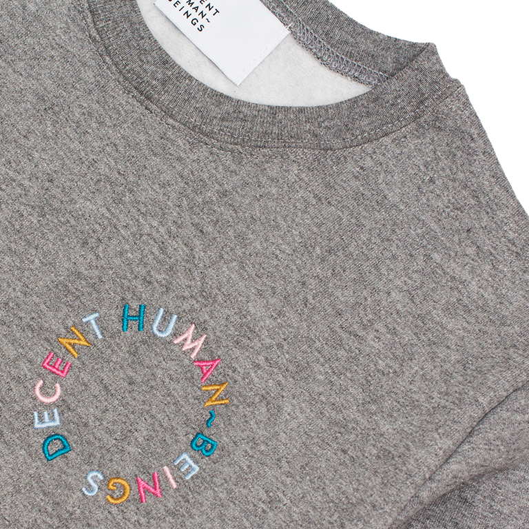 CIRCLE LOGO CREWNECK - GREY