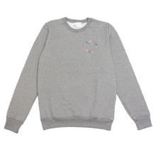 Load image into Gallery viewer, CIRCLE LOGO CREWNECK - GREY