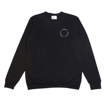 Load image into Gallery viewer, CIRCLE LOGO CREWNECK - BLACK