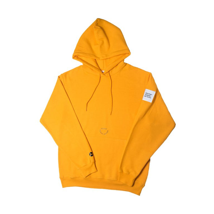 PATCH HOODIE - YELLOW