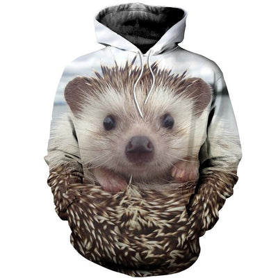 3D All Over Printed Hedgehog Clothes 1232