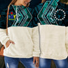 Cook Islands fleece stand collar sweatshirt