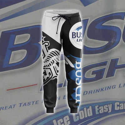 3D All Over Printed Busch Light Hoodie T Shirt Joggers