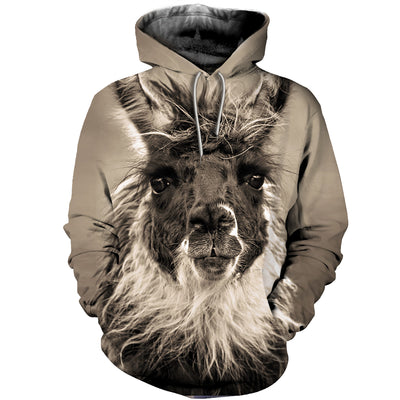 3D All Over Printed Alpaca T Shirt Hoodie 121316