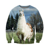 3D All Over Printed Alpaca T Shirt Hoodie 121327