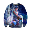 3D All Over Printed Aquarius Zodiac T Shirt Hoodie 30102