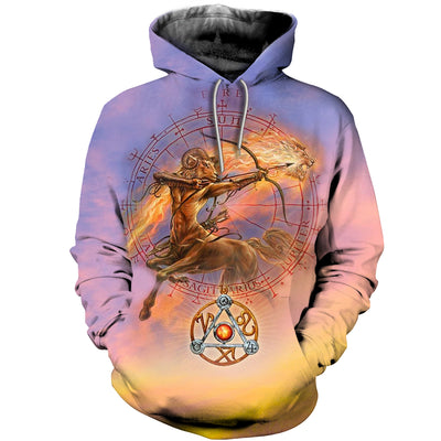 3D All Over Printed Aries T Shirt Hoodie 211207