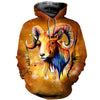 3D All Over Printed Aries T Shirt Hoodie 2112010
