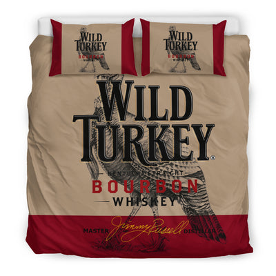 Wild Turkey Bourbon Bedding Set