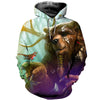 3D All Over Printed Bear T Shirt Hoodie 81201911