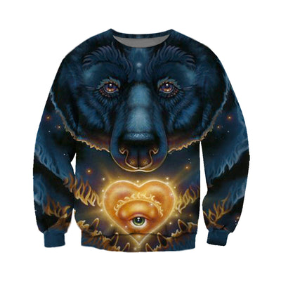 3D All Over Printed Bear T Shirt Hoodie 8120192