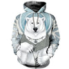 3D All Over Printed Bear T Shirt Hoodie 8120193