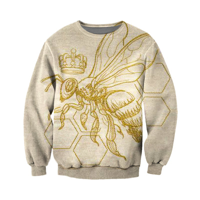 3D All Over Printed Bee T Shirt Hoodie 221216