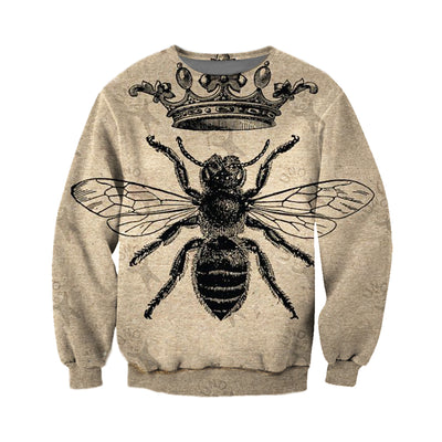 3D All Over Printed Bee T Shirt Hoodie 221220