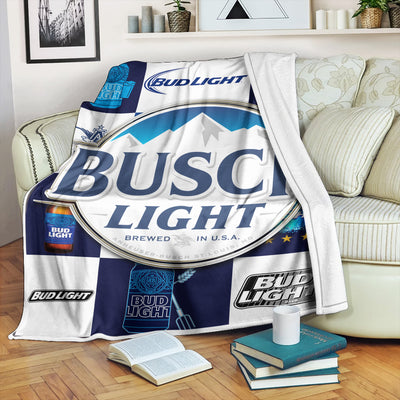 Busch Light Beer FLEECE BLANKET 1472020