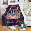 ON A DARK DESERT HIGHWAY COOL WIND IN MY HAIR HIPPIE FLEECE BLANKET 2
