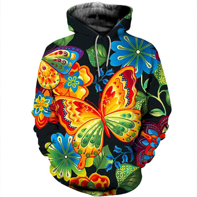 3D All Over Printed Butterfly T Shirt Hoodie 211210