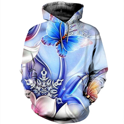 3D All Over Printed Butterfly T Shirt Hoodie 211214