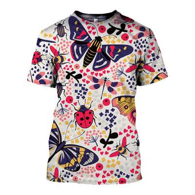 3D All Over Printed Butterfly T Shirt Hoodie 211216