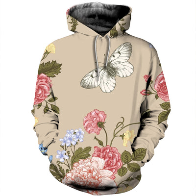 3D All Over Printed Butterfly T Shirt Hoodie 211217