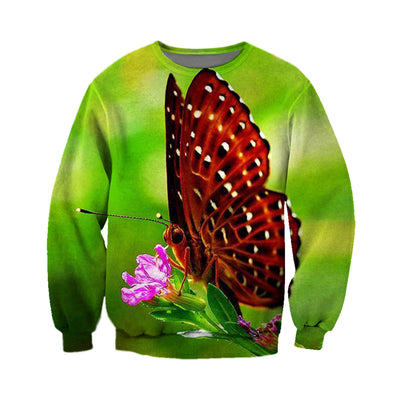 3D All Over Printed Butterfly T Shirt Hoodie 211218