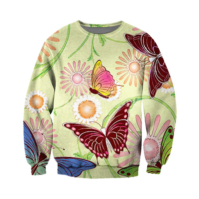 3D All Over Printed Butterfly T Shirt Hoodie 211220