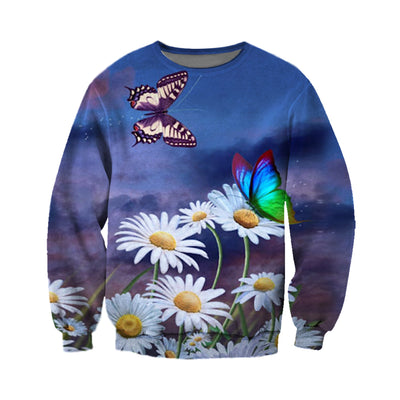3D All Over Printed Butterfly T Shirt Hoodie 211221