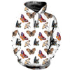 3D All Over Printed Butterfly T Shirt Hoodie 211222