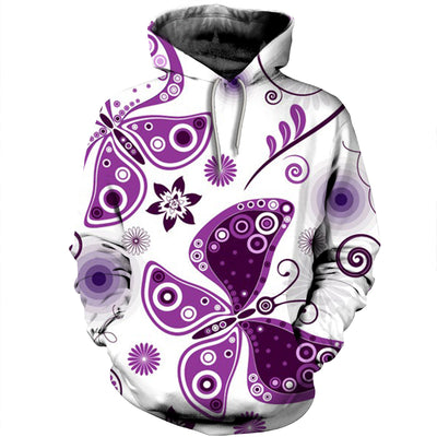 3D All Over Printed Butterfly T Shirt Hoodie 211223