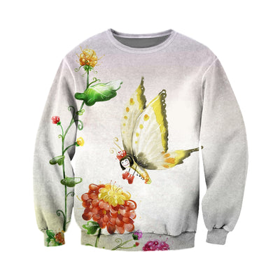 3D All Over Printed Butterfly T Shirt Hoodie 211224