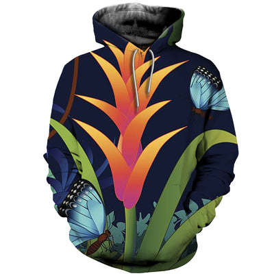 3D All Over Printed Butterfly T Shirt Hoodie 211225