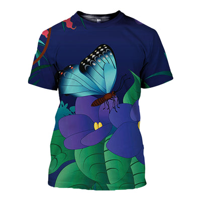 3D All Over Printed Butterfly T Shirt Hoodie 211227