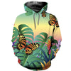 3D All Over Printed Butterfly T Shirt Hoodie 211228