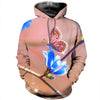 3D All Over Printed Butterfly T Shirt Hoodie 21125